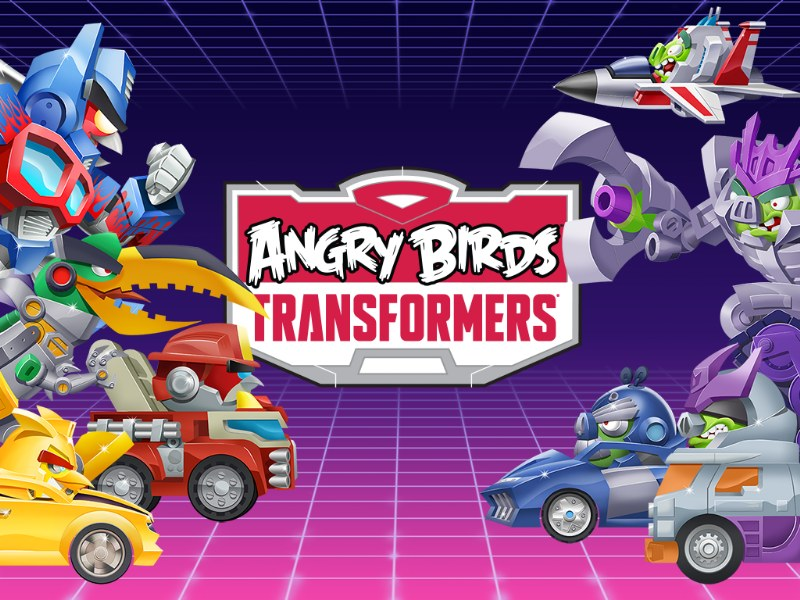 Angry Birds Transformers Android Oyunu