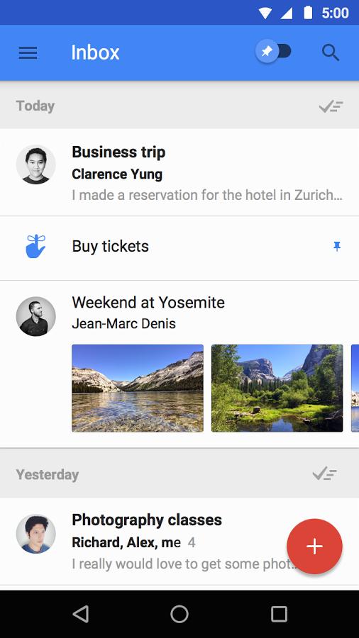 Inbox by Gmail – E-posta Yönetimine Yeni Bir Yaklaşım