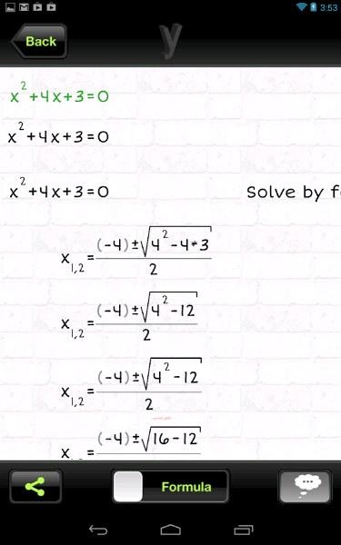Matematik İşlem ve Eşitlik Çözücü – yHomework
