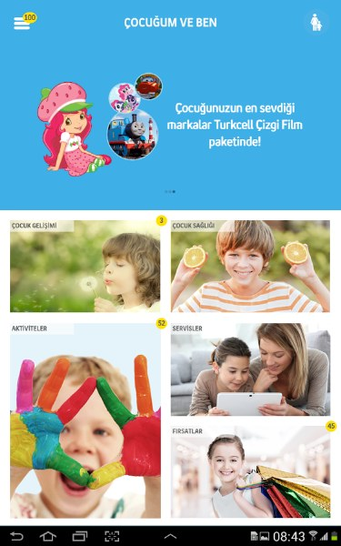 Turkcell Çocuğum ve Ben Uygulaması