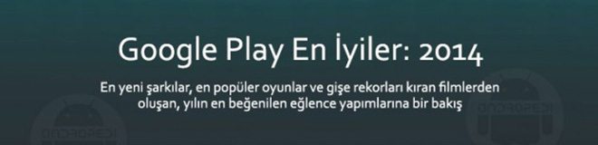 Google Play En İyiler: 2014