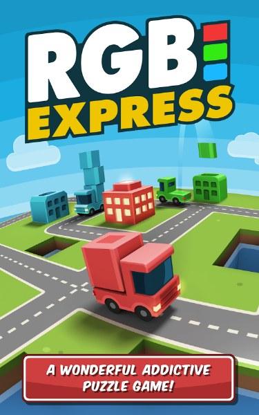 Kargoları Yerine Ulaştırın – RGB Express Bulmaca Oyunu