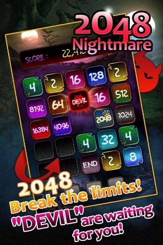 Yeni Nesil 2048 Oyunu – 2048 Nightmare