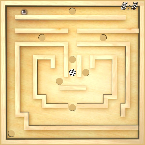 Üç Boyutlu Klasik Labirent Oyunu