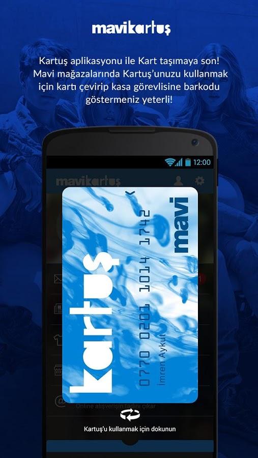 Mavi Jeans Mobil Uygulama – Mavi Kartuş Kart