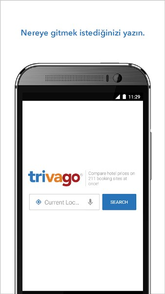 Trivago – Otel Arama Uygulaması