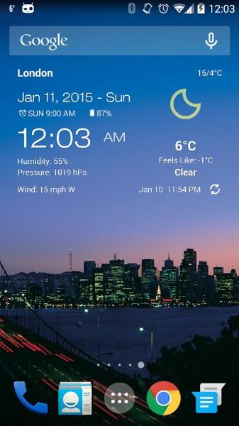 Android Hava Durumu ve Saat – Weather & Clock Widget
