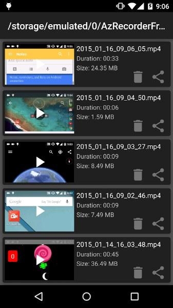 Telefon Ekran Kaydedici – AZ Screen Recorder