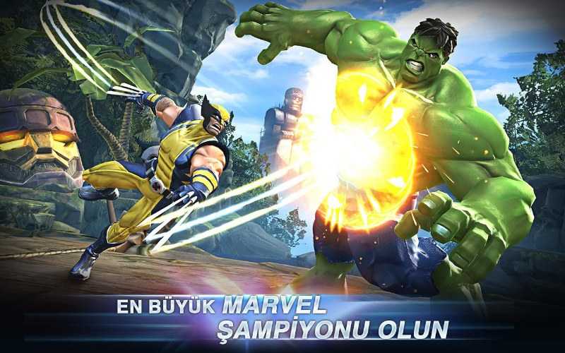 Marvel Şampiyonlar Turnuvası Android Oyunu