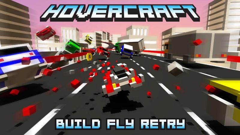 Hovercraft Aracınızı Yapın ve Yola Çıkın – Hovercraft Build Fly Retry
