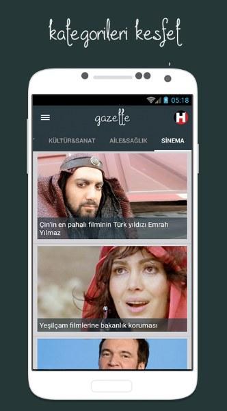 Gazette – Haber Takip Uygulaması