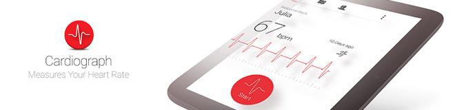 Telefonda Kalp Atışı Ölçme ve Takip Etme – Kardiyograf