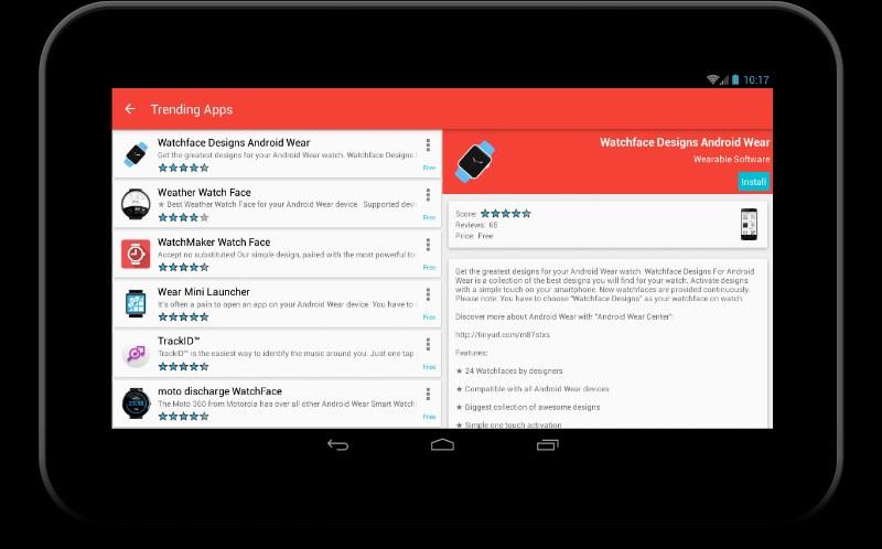 Akıllı Saatler için Android Market Uygulaması