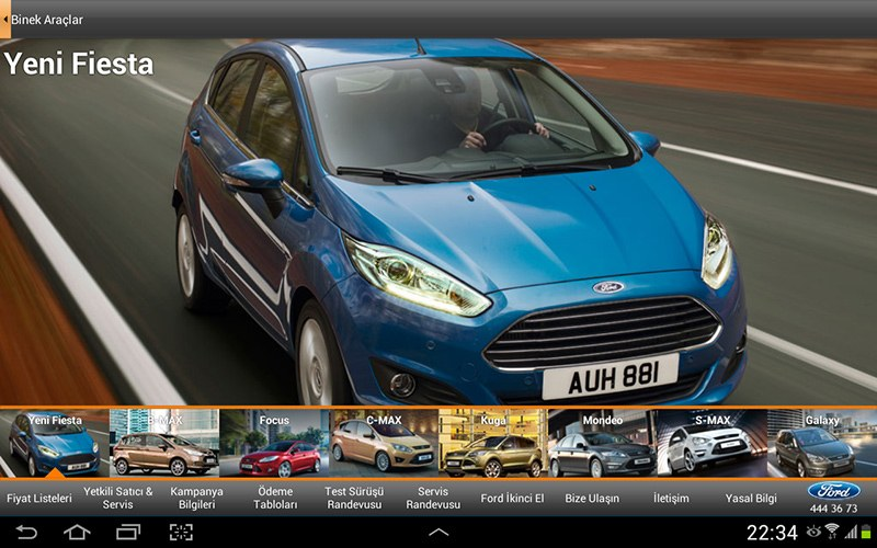 Ford Türkiye Resmi Android Uygulaması
