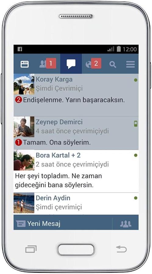 Yavaş Telefonlar için Facebook Lite