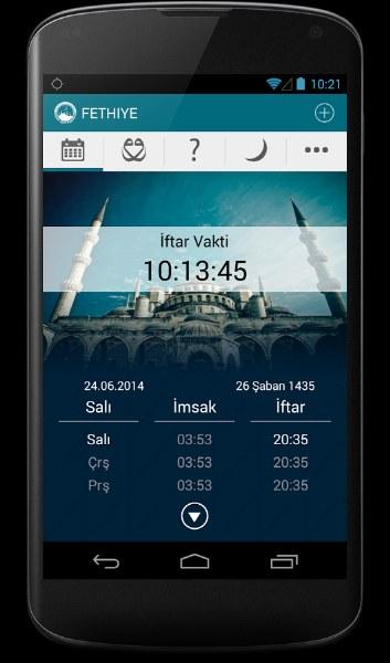 Ramazan Rehberi ve İmsakiye Android Uygulaması