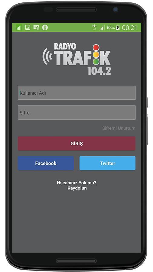Radyo Trafik 104.2'yi Telefonunuzdan Dinleyin
