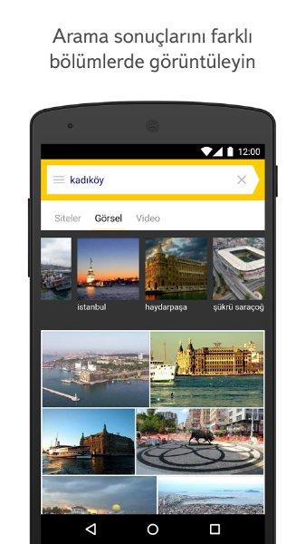 Fenerbahçe Yandex Android Uygulaması