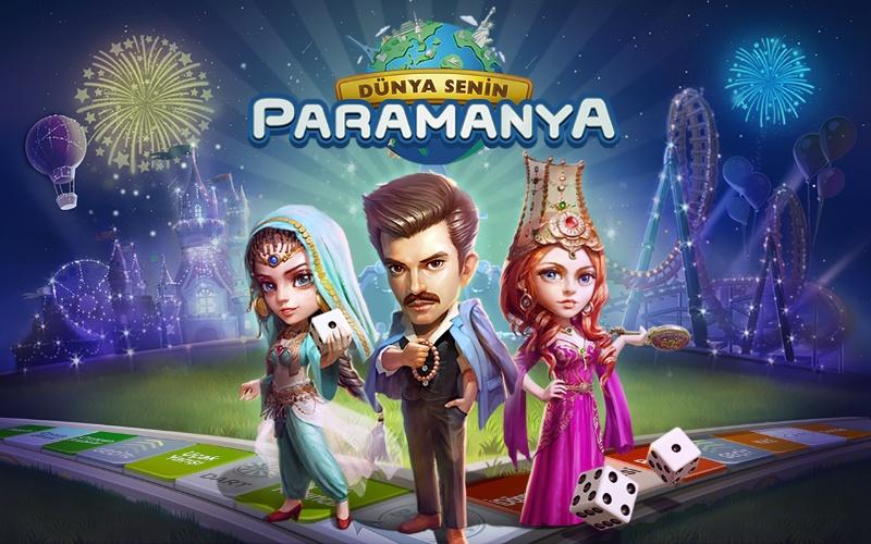 Monopoly Tarzında Android Oyunu – Paramanya