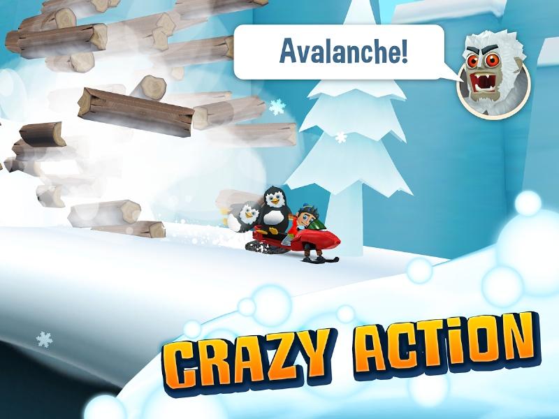 Ski Safari 2 – Android Kayak Oyununun Yenisi