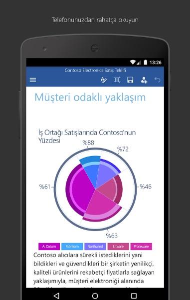 Android Telefonda Word Dosyalarını Açma – Microsoft Word
