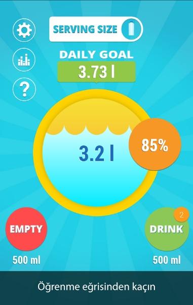 Günlük İçtiğiniz Su Miktarını Takip Edin – H2O
