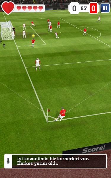 Pas Ver, Şut Çek, Gol At! Score Hero