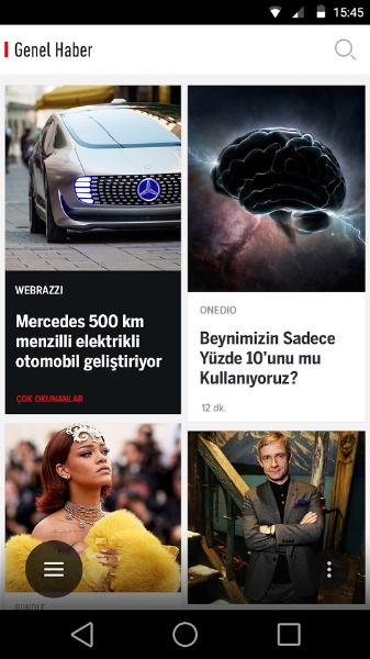Dünya'dan ve Türkiye'den Haberler Tek Uygulamada – Bundle