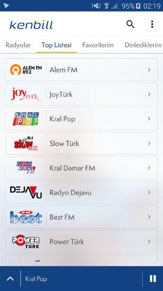 Android Telefonunuzda Radyo Dinleyin