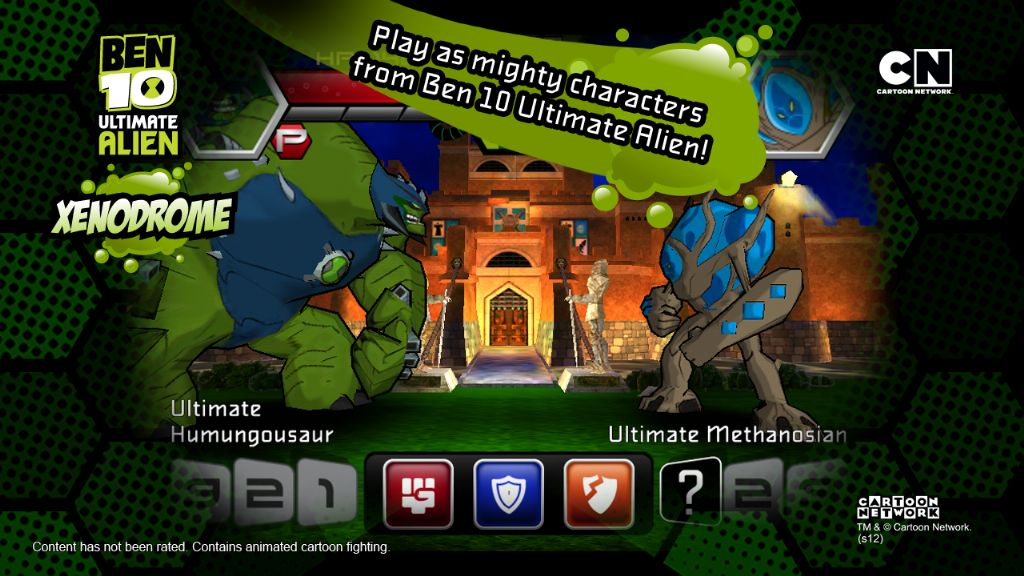 Ben 10 Android Oyunu – Xenodrome