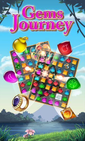 Taşları Eşleştirme Oyunu – Gems Journey
