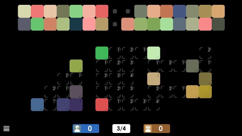 Renkleri Sıraya Dizme Oyunu – Blendoku 2
