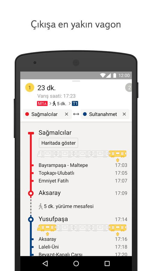 İstanbul Metro ve Tramvay Haritası – İstanbul Metro