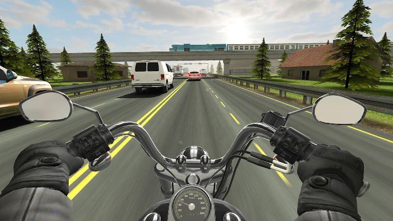 Trafikte Motosiklet Kullanma Oyunu – Traffic Rider