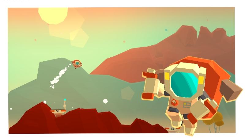 Jetpack ile Mars Yolculuğu