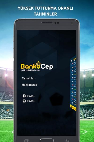 BankoCep Android iddaa Tahminleri Uygulaması