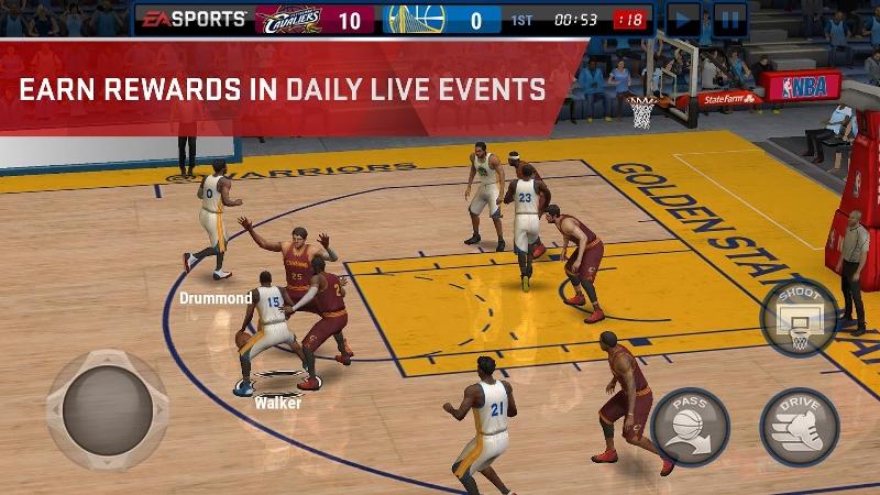NBA Live Mobile – Android NBA Oyunu