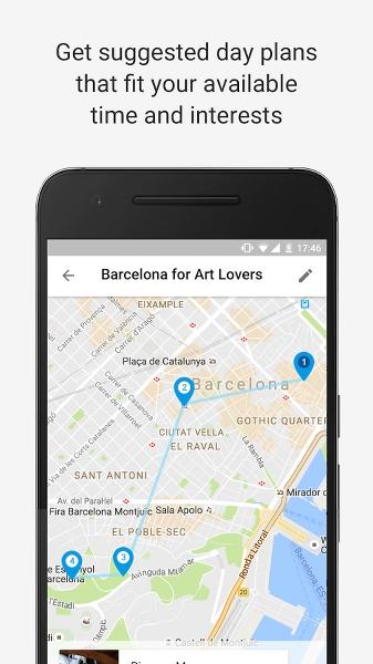 Gezilecek Yerler Uygulaması – Google Trips