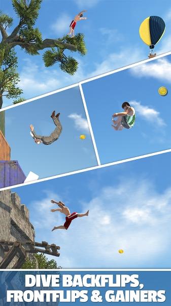 Android Dalış Oyunu – Flip Diving