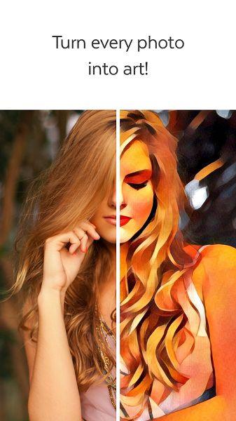Fotoğrafları Yağlı Boya Resme Dönüştürmek – Prisma
