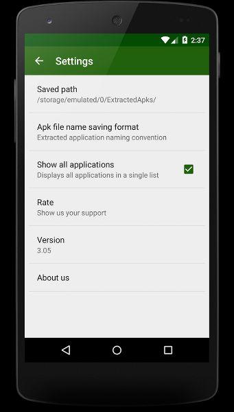 Telefonunuzdaki Uygulamaların APK Dosyasını Paylaşın