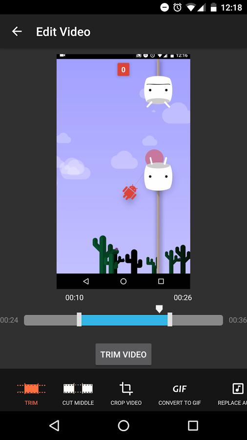Az Screen Recorder için Video Düzenleme Eklentisi