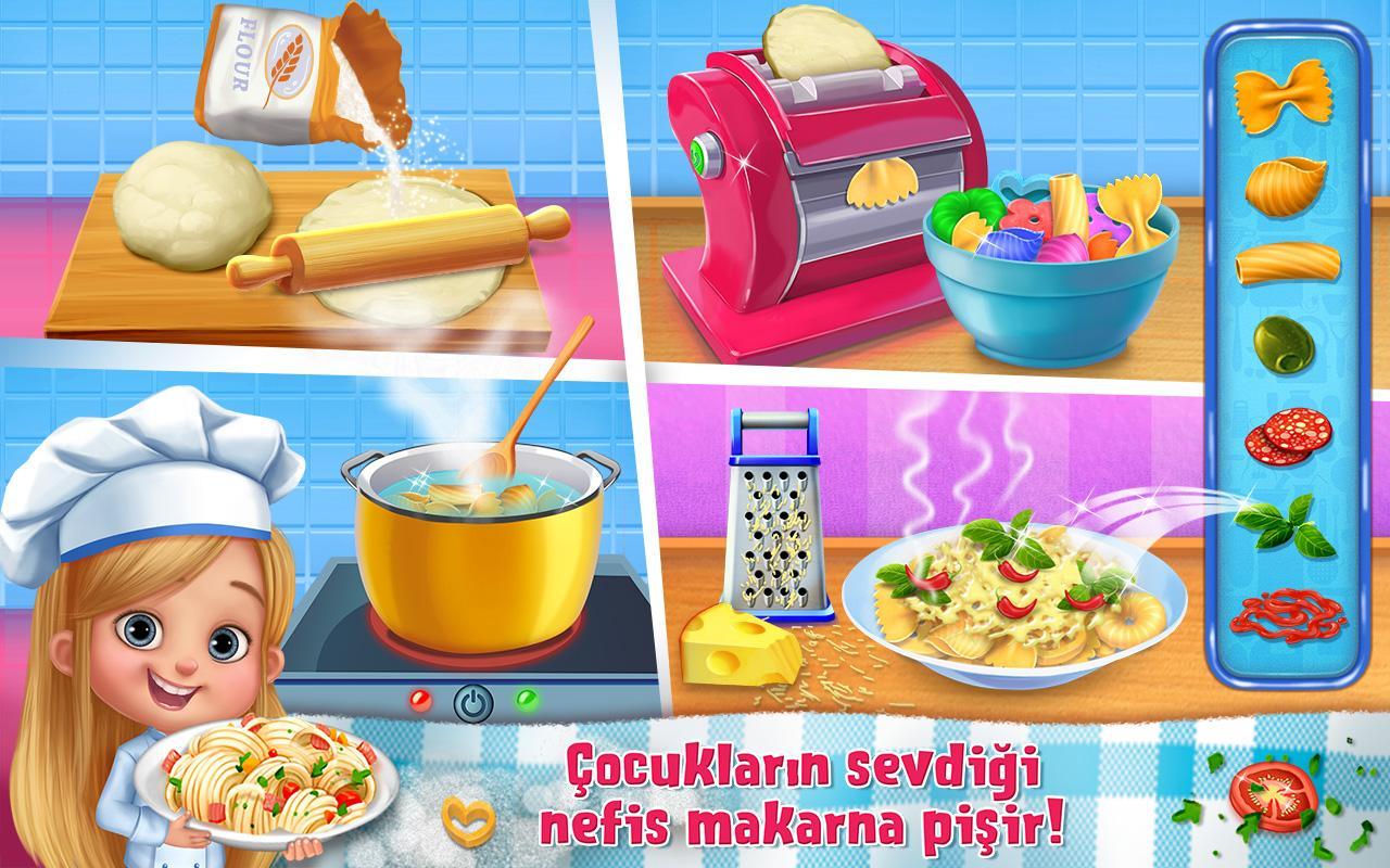 Yemek Pişirme Oyunu – Aşçı Çocuklar