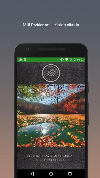 Milli Parklar Rehberi Android Uygulaması