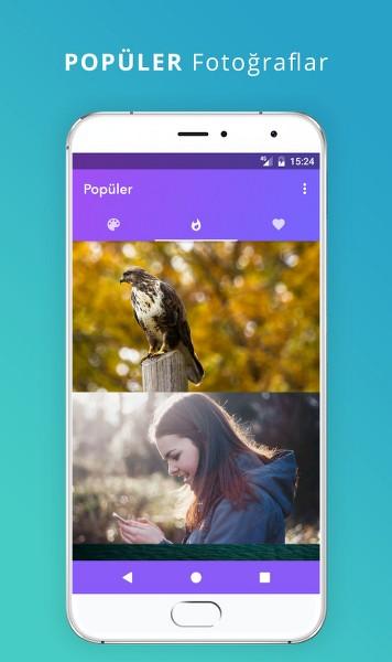 Android Resim için Renk Paleti