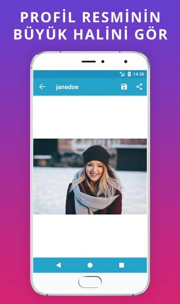 Instagram'da Büyük Profil Fotoğrafı Görüntüleme