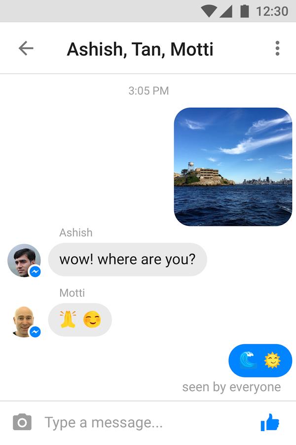 Yavaş Telefonlar için Facebook Messenger Lite