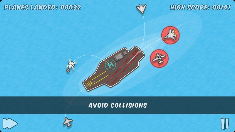 Hava Trafik Kontrol Oyunu – Planes Control