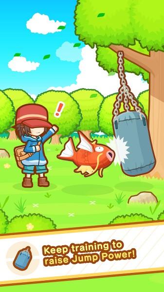 Pokemon'dan Yeni Oyun: Pokémon: Magikarp Jump