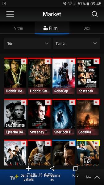 Turkcell TV ile Telefondan Film ve Dizi İzlemek